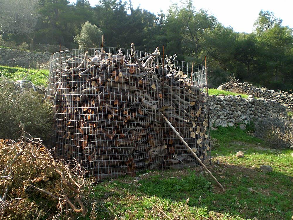 αποθήκευση ξυλείας